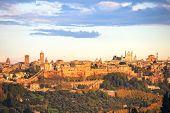 Orvieto Medieval Town Panoramic View. Italy
