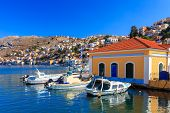 Symi Town Greece