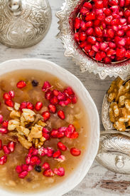 picture of noah  - Turkish dessert Ashura Noah - JPG