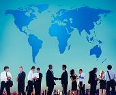 stock photo of globalization  - World Global Cartography Globalization Earth International Concept - JPG