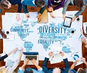 pic of racial diversity  - Diversity Community Meeting Business People Concept - JPG