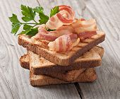 stock photo of bap  - hot big sandwich - JPG