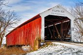 foto of covered bridge  - The red McAllister - JPG