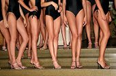 Models At Beauty Contest