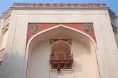 pic of india gate  - Closeup of the Gate at Humayun - JPG