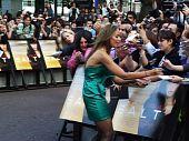Leona Lewis en sal estreno en Londres 16 agosto 20102010