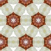 picture of primitive  - art vintage blurred watercolor floral pattern - JPG