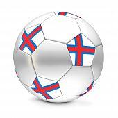 Soccer Ball/football Faroe Islands