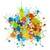 Grunge, Abstract, Art, Artistic, Color, Splash, Colorful