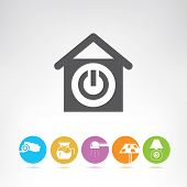 picture of cctv  - smart home icons - JPG