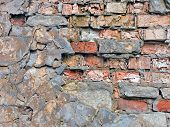 The old brickwork.