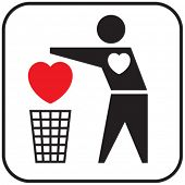 Heartless (conceptual icon).