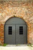 portas da prisão