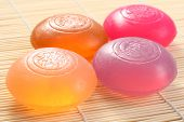 four bars of glycerine soap - body care