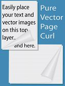 In easy-to-use layers, so you have only to add your vector images & text to the layers to get the ef