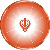 The Khanda is one of most important symbols of Sikhism alongside the Ik Onkar (Ek Onkar), It is comm