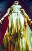 Golden Budha Standing