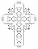 Vector Christian Cross Design