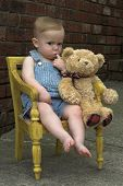 Toddler And Teddy