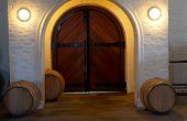 Entrance Of The Wine Cellar In Franschhoek