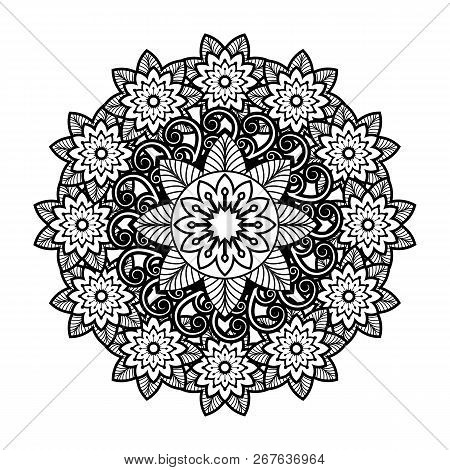 poster of Antique Black Ornaments, Baroque Ornaments, Scroll Ornaments, Border Carving Ornaments, Floral Ornam