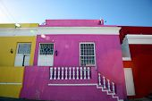 Coloured Houses In Cape Town