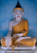 Temple And Buddha