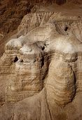 The Caves Of Qumran From Israel