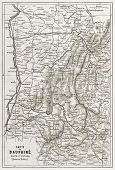 picture of dauphin  - Dauphine old map - JPG