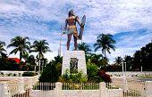 foto of cebu  - Lapu Lapu Statue in Mactan Cebu Philippines - JPG