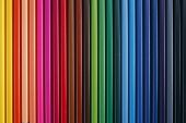 stock image of the mulicolor pencil