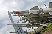 Collection of russian anti aircraft missiles
