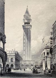 stock photo of luigi  - Antique illustration of  St - JPG