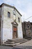 Church of SS nome di Ges�. Calcata. Lazio. Italy.