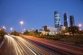 Evening At Madrid Highway