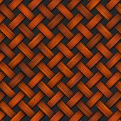 Braided Old Wood Background
