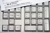 Tax Keyboard