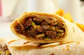 Close Up Of Dorum Doner Kebab
