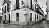 CORDOBA, SPAIN - MAY 16: Conde y Luque Street, in La Juderia district, on May 16, 2012 in Cordoba, S
