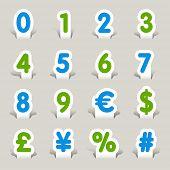 Paper Cut - Numbers