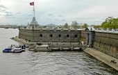 Fort in peter and paul fortress