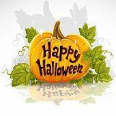 Corte Feliz Halloween calabaza banner