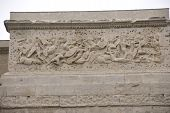 Frieze Sculpture Of Roman Battle