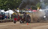International Tractor Pulling Smoke Everywhere