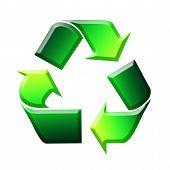 Recycling Sign / Symbol Illustration