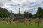 Lourdes , Garden Of Crosses