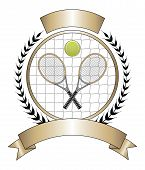 Tennis Design Template Laurel