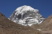 Постер, плакат: Святая гора Кайлаш в Тибете