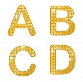 Glittering ABCD