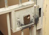 Prison cell lock